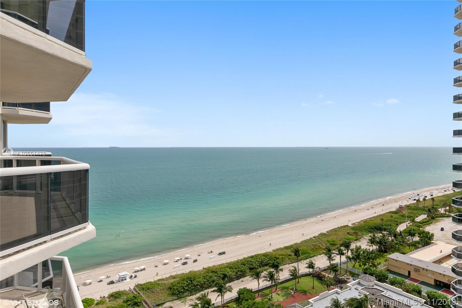 Magnificent Ocean and City views from this large 2 bedrooms, 2 full bath plus a den that was converted into a third bedroom. The master suite with spacious walk-in closet and a large bath with Jacuzzi and separate shower. Floor-to-ceiling sliding glass doors, big terrace with stunning views  and more details found throughout this residence. This residence in one of the Miami Beach's most prestigious sought after buildings, The Blue & Green Diamond. Stellar location, situated on Millionaires Row, minutes from world-renowned South Beach, erformance Arts Center, Miami International Airport, famous Bal Harbor Shops and Miami Design.