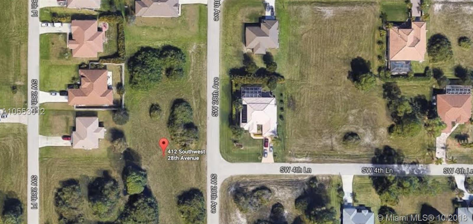 412 SW 28 AVE CAPE CORAL, Other City - In The State Of Florida, FL 33991