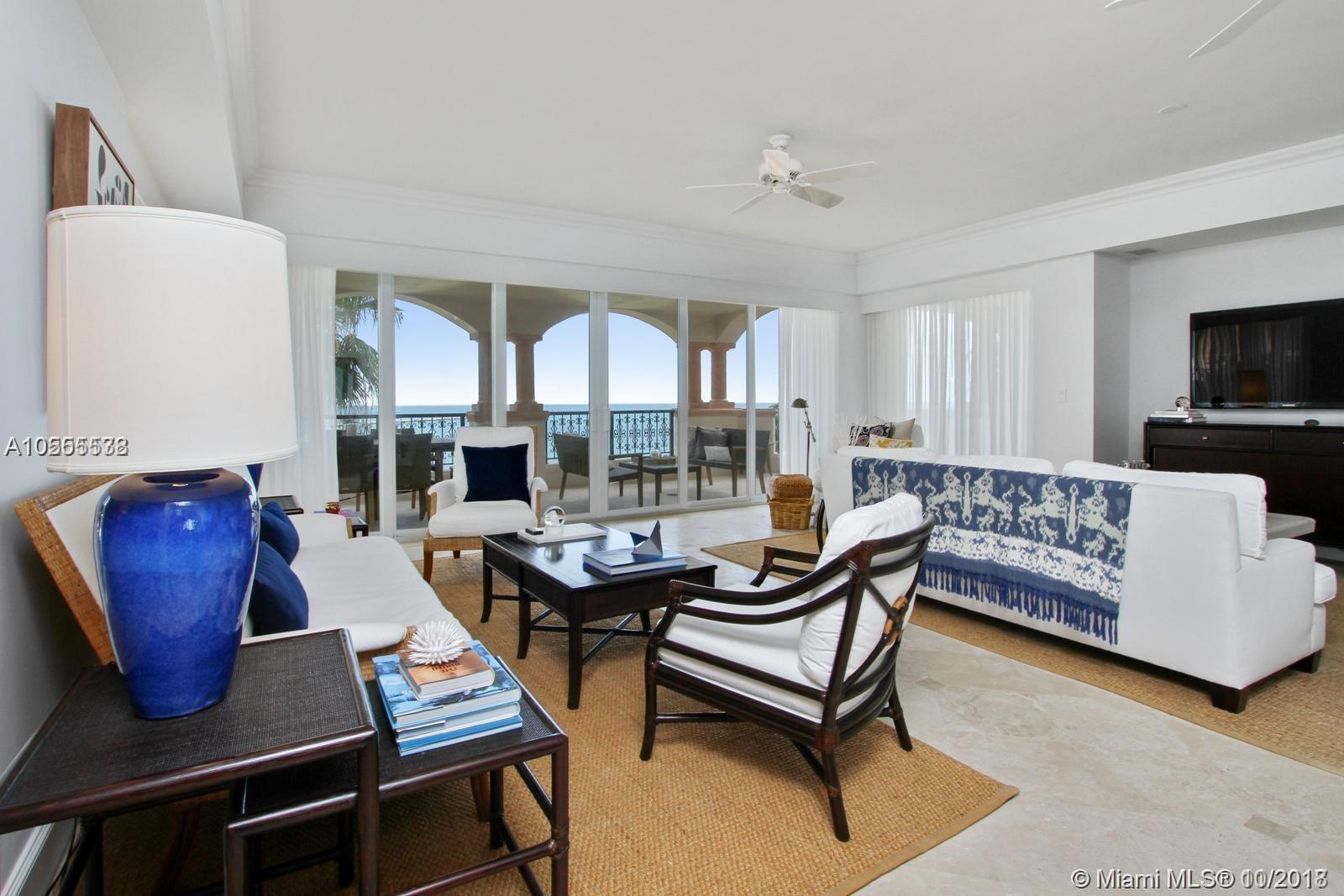 7742  Fisher Island Dr #7742 For Sale A10555538, FL