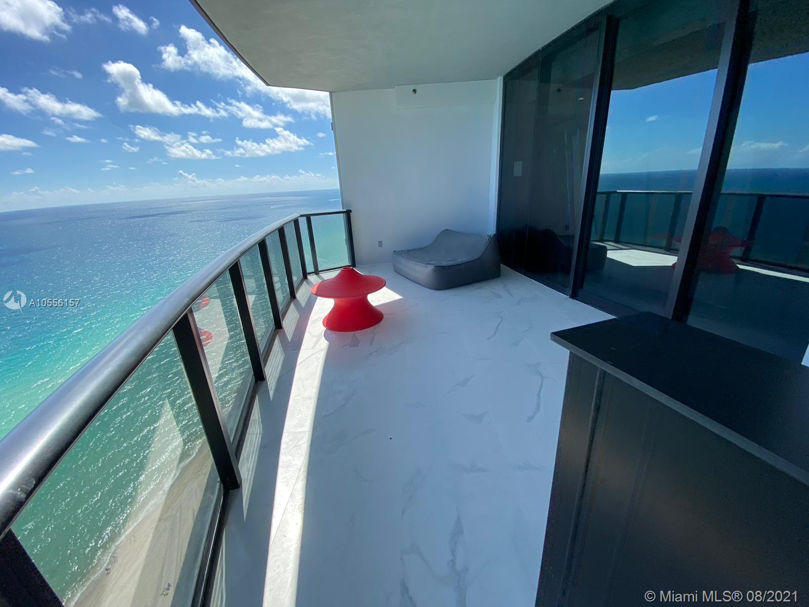 *Best Deal in Porsche*Amazing Unit, Direct Ocean Front, 4bed/3bath+1hbath+plus service room with bath+ Den/Family room. Terrace with private pool & summer kitchen, private garage, robotic car elevator. Five starts amenities: gym, spa, beach service, private restaurant, theater, virtual games, race car simulator, lounge bar  Highlights: Recently finished (floors, remote control shades, custom closets) Unit is leased from 3/1/21 until 2/28/22 Prepayed $180,000 for 1 year Buyer can buy it with the lease. Great investment opportunity!  But if buyer does not want the tenant we can notify him and he will vacate (we have a clause). Garage is at the lower level (access with private stairs and private elevator) it is not at the kitchen level.  Showing requests within 24 hs notice.