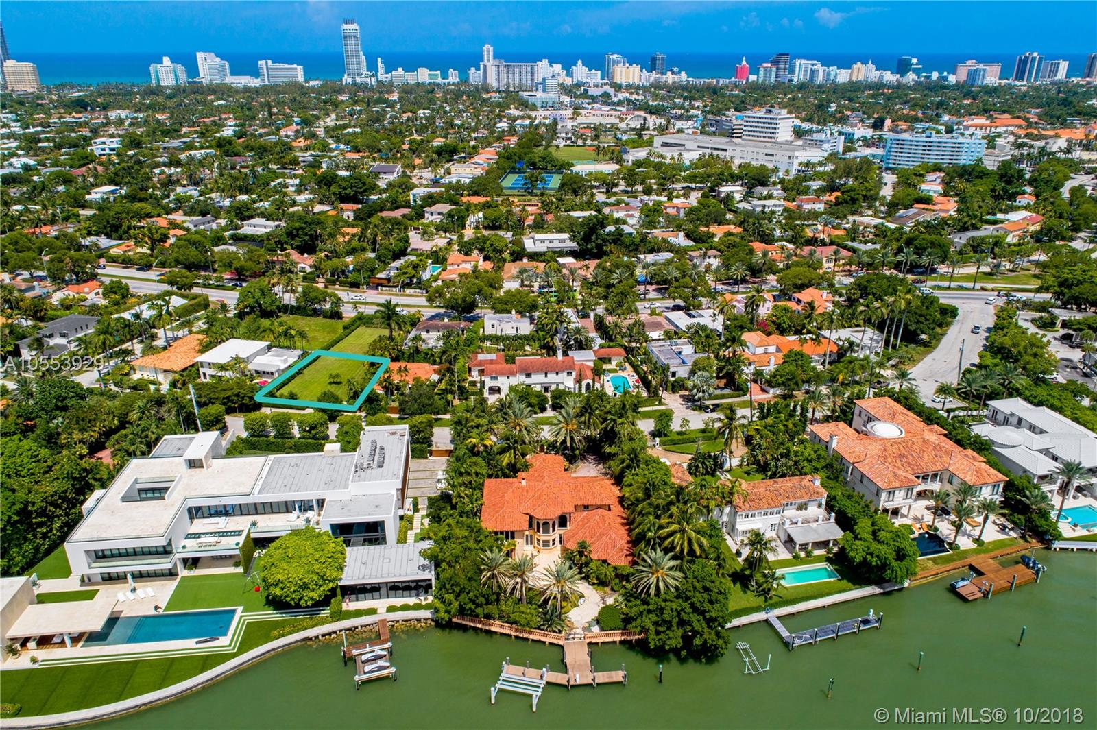 4355 N Bay Rd  For Sale A10553929, FL