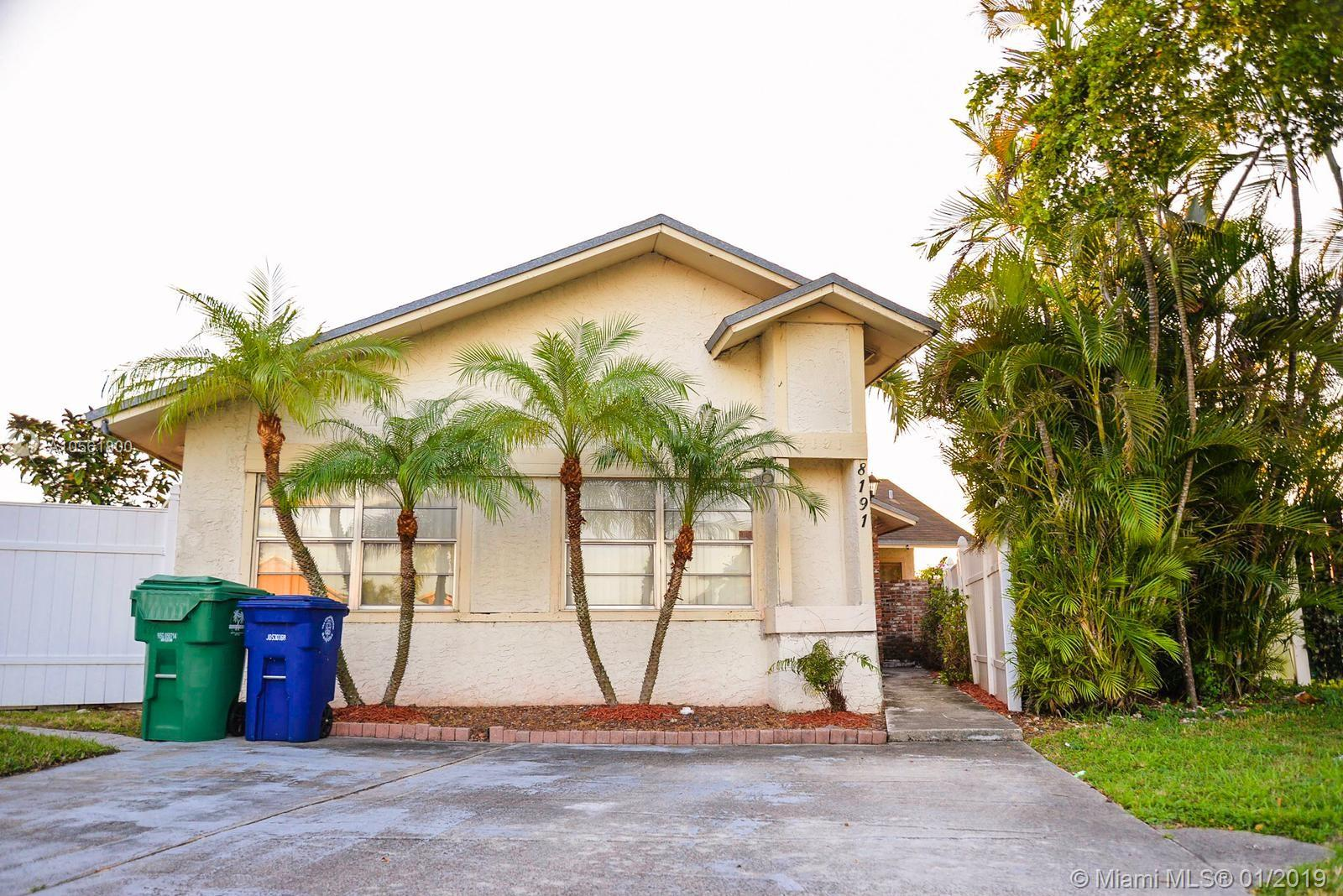 8191 SW 24th Pl  For Sale A10561800, FL