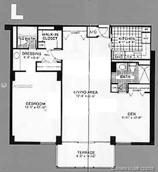 20301 W Country Club Dr #1430 For Sale A10580480, FL