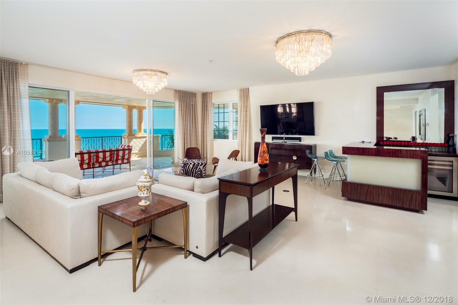 7442  Fisher Island Dr #7442 For Sale A10580141, FL