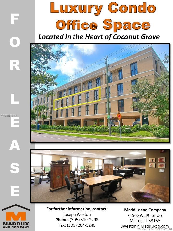 3006  Aviation Ave #3B For Sale A10584349, FL