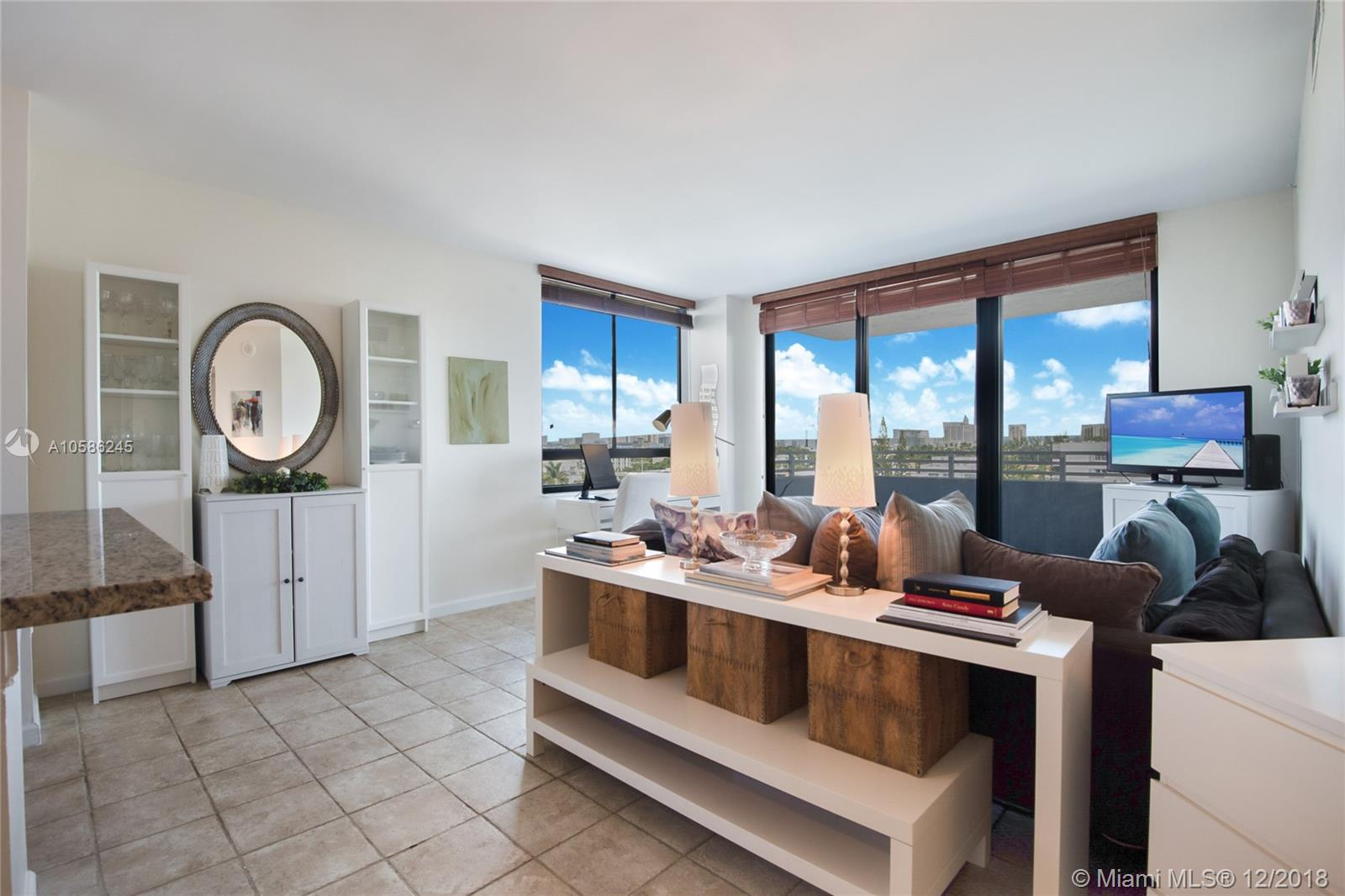 1330  West Ave #713 For Sale A10586245, FL