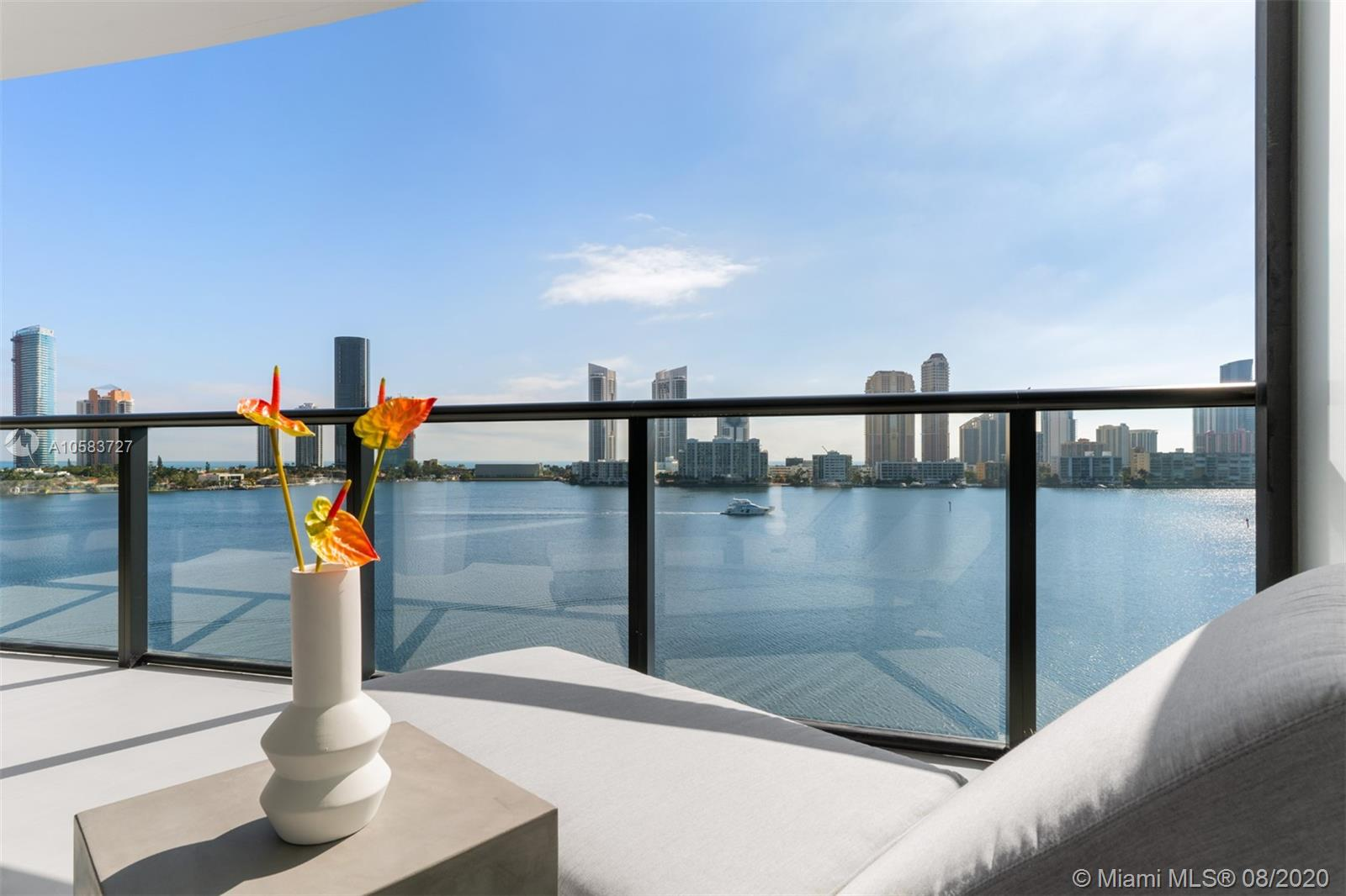 Brand new beautifully designed residence in Prive, Aventura's newest jewel. Magnificent 4 bedrooms and 5.5 bath residence with over 4000 SF. Of living area. Beautiful flooring and lighting details throughout, custom closets and doors, and exquisite designer furnishings. Incredible building amenities include marina, tennis, private beach, billiards, teen and children's room, restaurant, bar and spa. Ready for occupancy October 1st! Please call us for additional details!