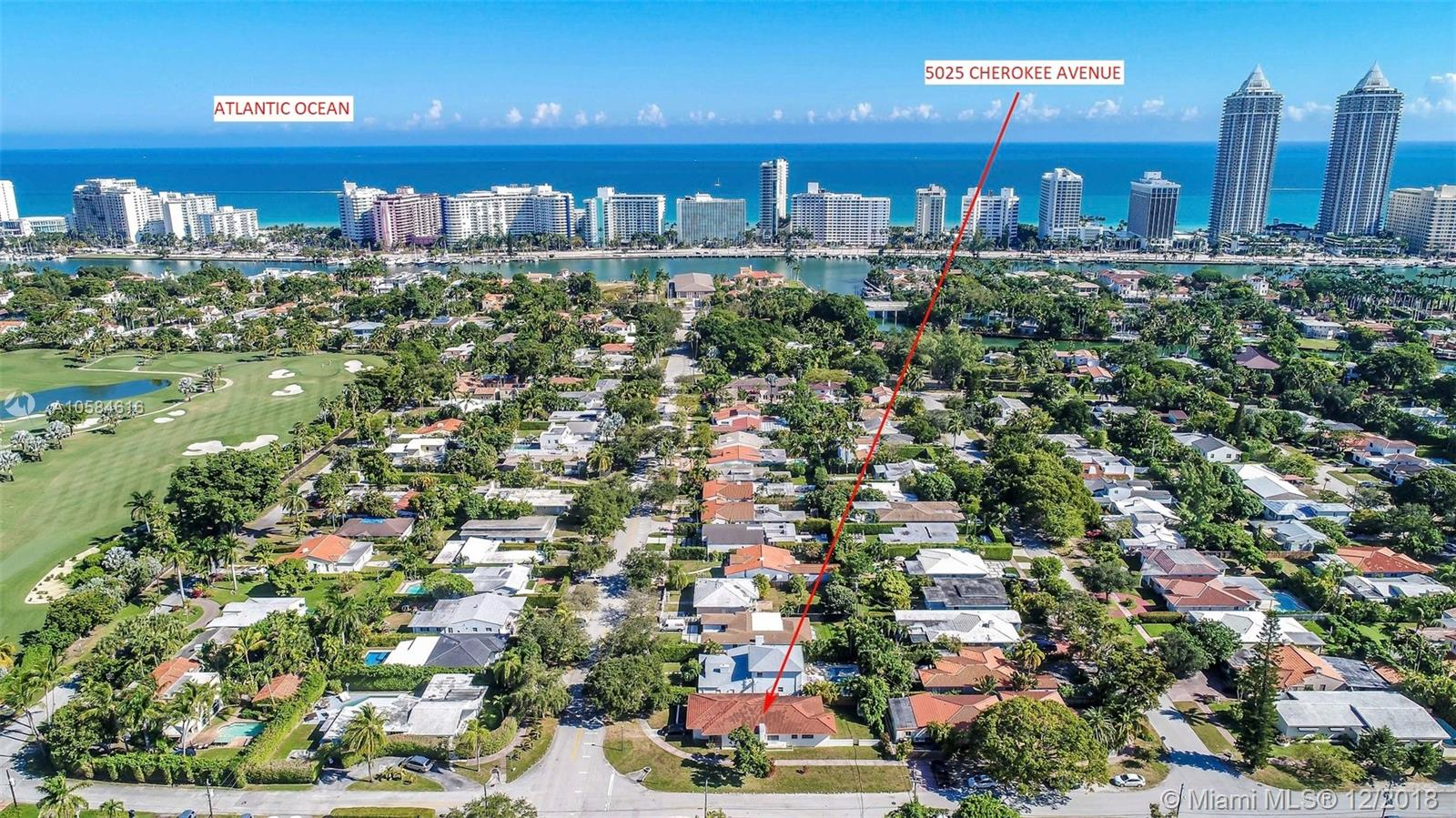 5025  Cherokee Ave  For Sale A10584616, FL