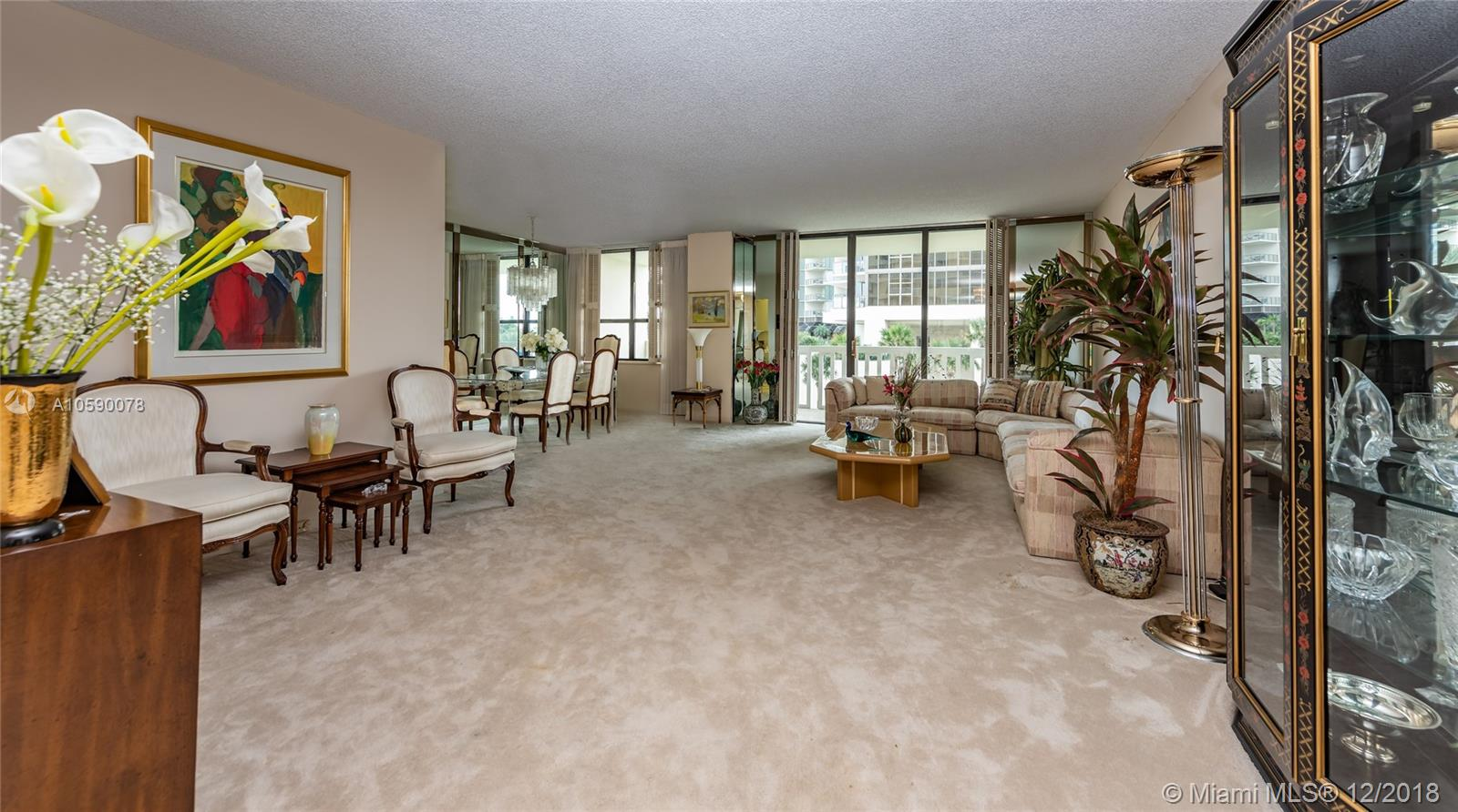 9801  Collins Ave #5U For Sale A10590078, FL