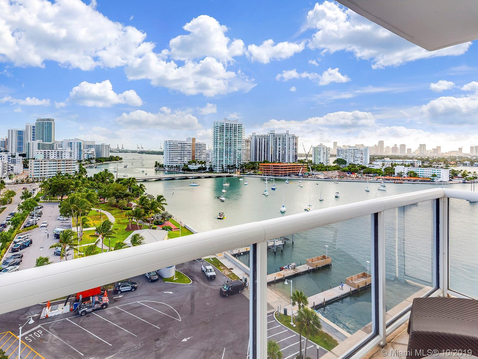 1800  Sunset Harbour Dr #1201 For Sale A10593693, FL