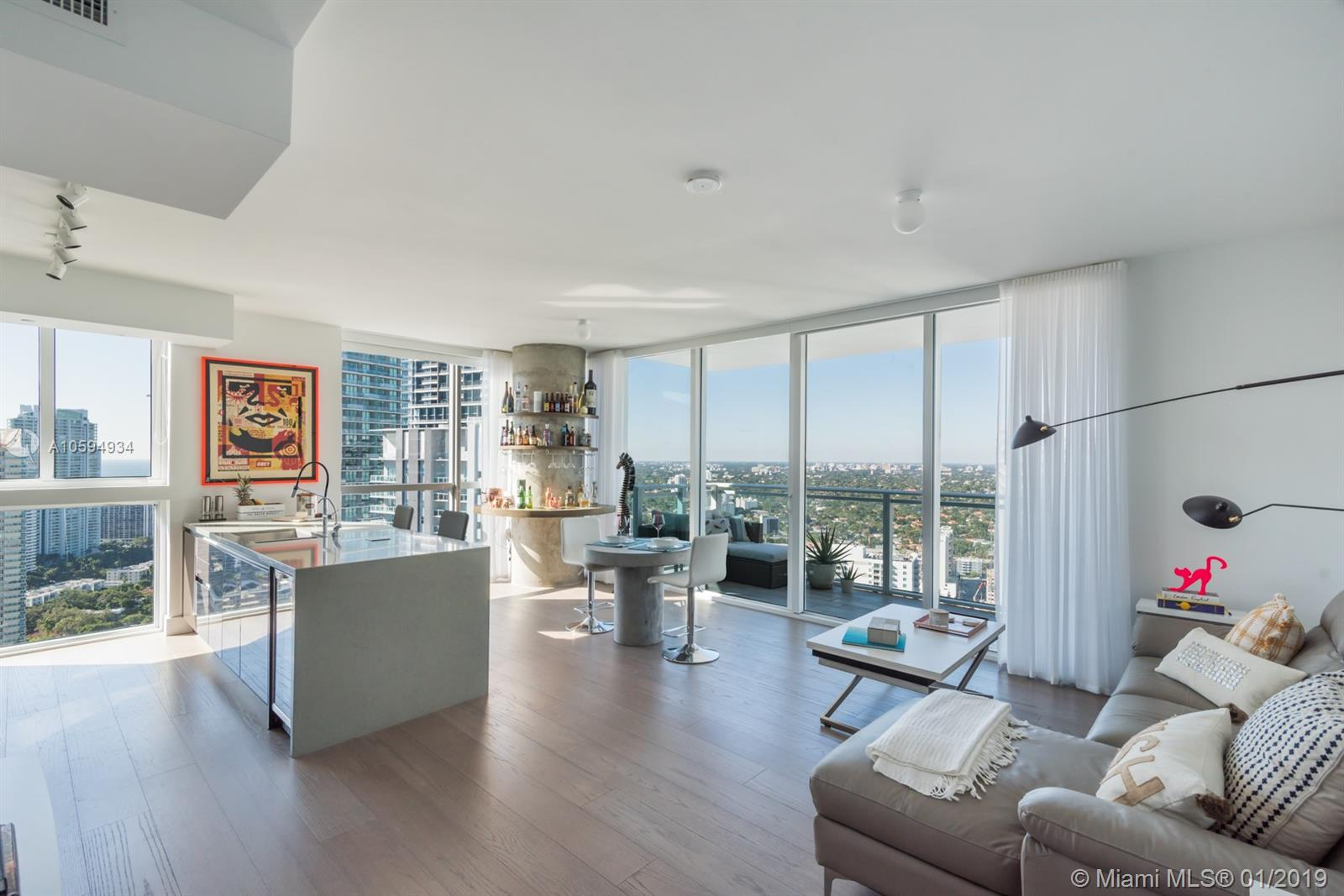 1080  Brickell Ave #3601 For Sale A10594934, FL