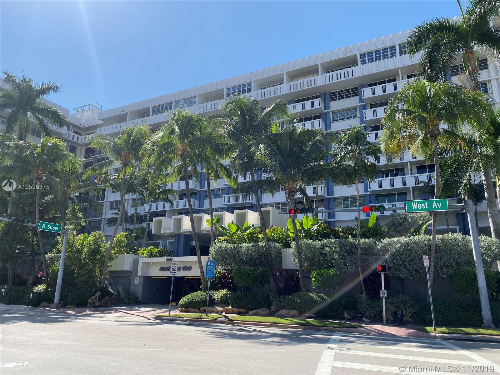 800  West Ave #506 For Sale A10590375, FL
