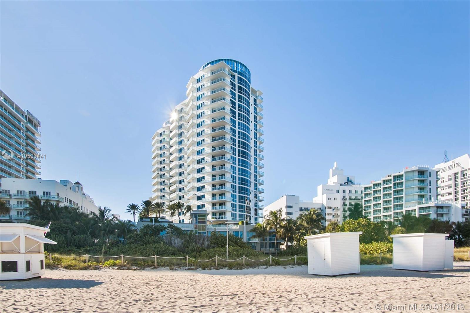 3801  Collins Ave #1103 For Sale A10599441, FL