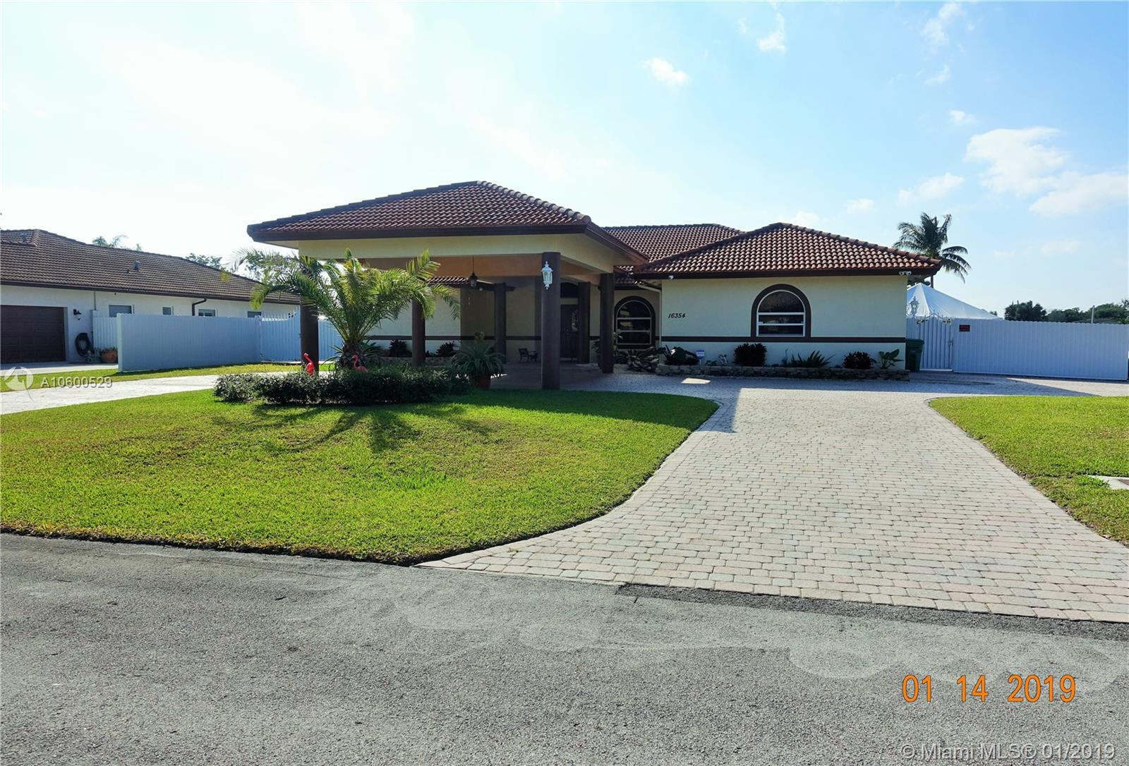 16354 SW 275 ter  For Sale A10600529, FL