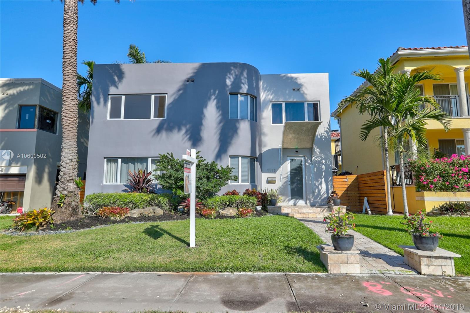 1113 NE 89th St  For Sale A10600502, FL
