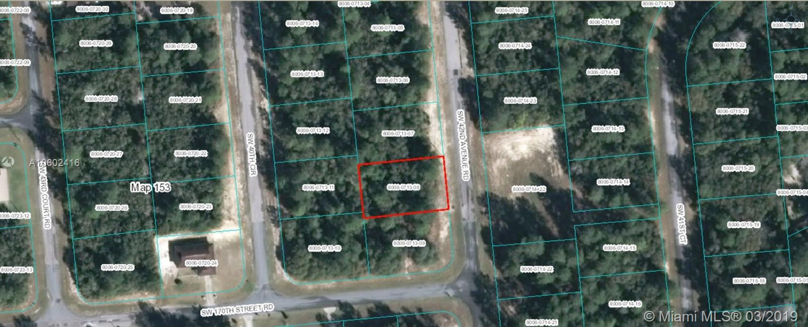 00 SW 42nd Ave Rd, Other City - In The State Of Florida, FL 34473