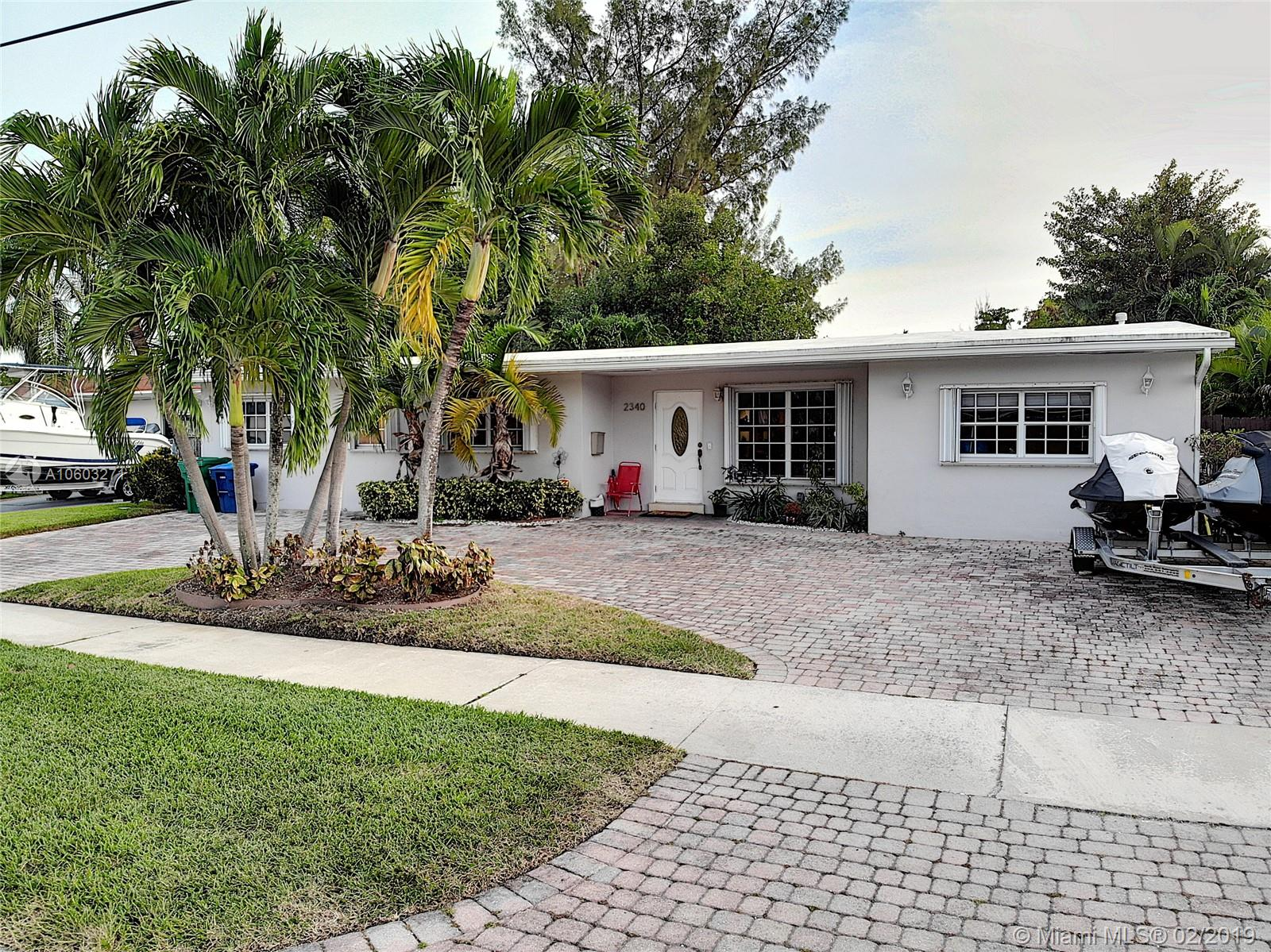 2340 NE 192nd St  For Sale A10603271, FL
