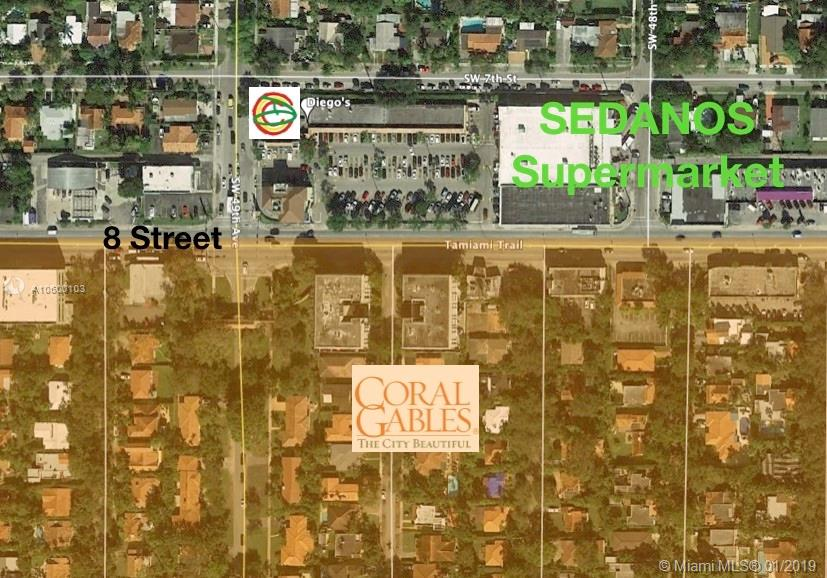 4825 SW 8 street  For Sale A10600103, FL
