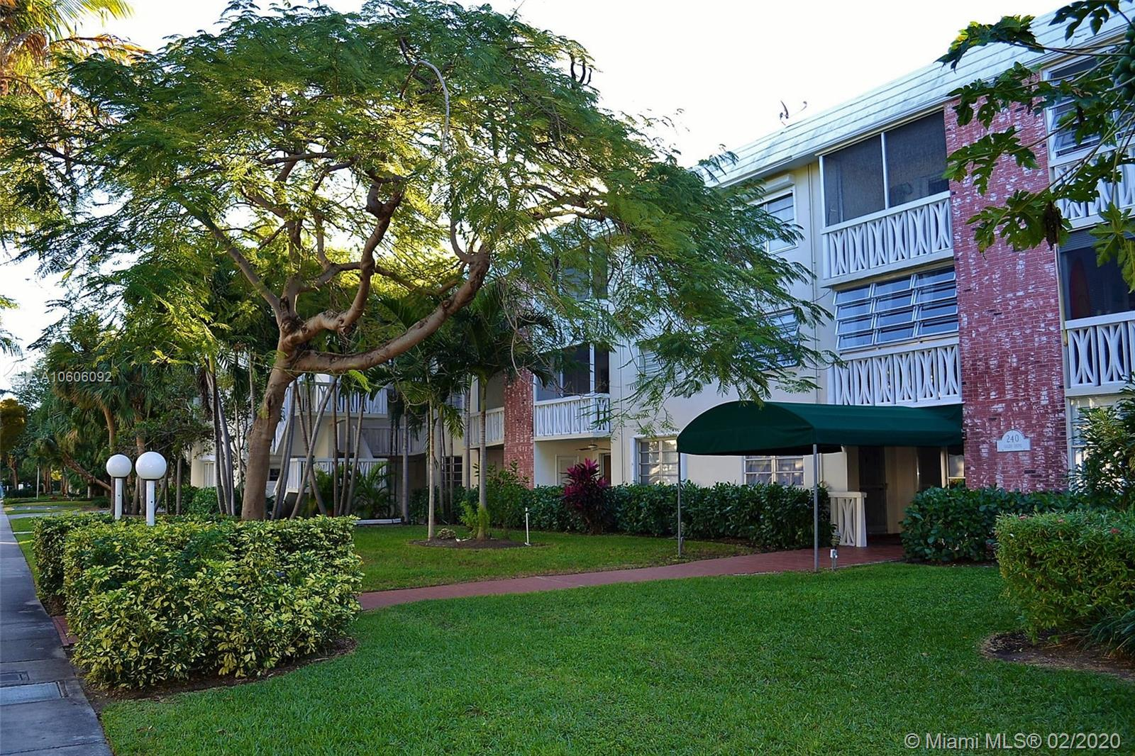 240  Galen Drive #315 For Sale A10606092, FL