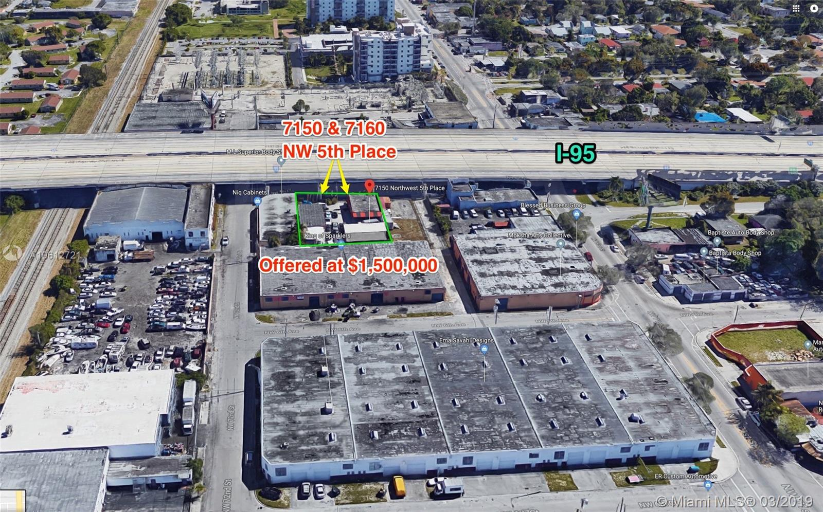 7150 NW 5th Pl  For Sale A10612721, FL