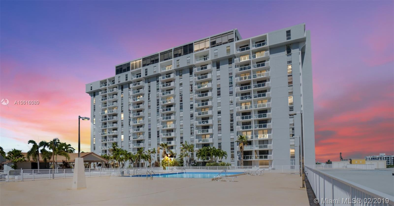 13499  Biscayne BLVD #604 For Sale A10616089, FL