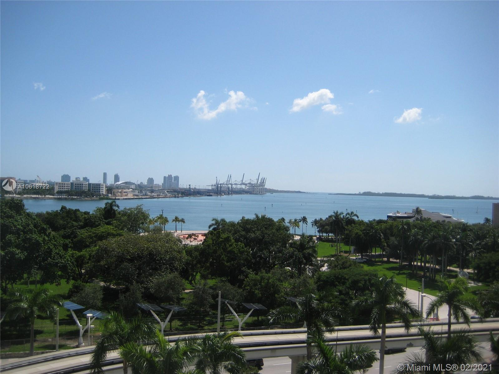 Investment opportunity! Charming, designer furnished studio in Downtown Miami by Rockwell Group. Direct bay views and same floor parking space. Great location, near Arena, Bayside Park, Brickell, shopping, restaurants and more. Gorgeous pool with club house and cabanas. State of the art fitness center and full service spa. Unit is rented to perfect Tenant until June 2021 for $1,700 per month.