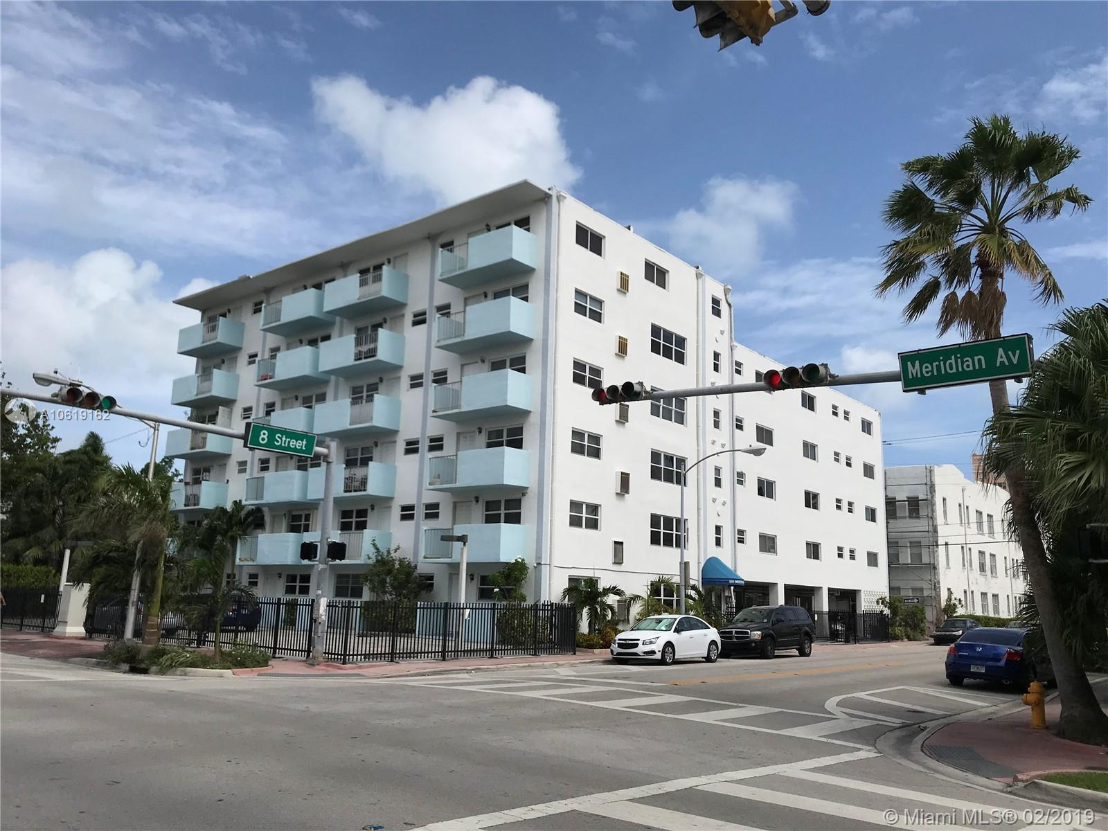 801  Meridian Ave #1B For Sale A10619162, FL