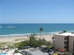1900 S Ocean Blvd #7B For Sale A10620043, FL
