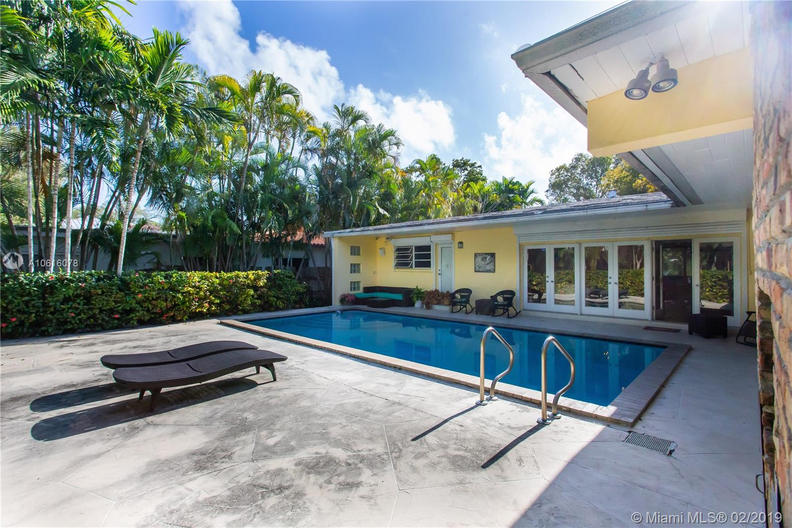 **BEST HOME FOR VALUE AT HIGH-DEMAND BAY HEIGHTS/COCONUT GROVE** WONDERFUL FLOOR PLAN WITH UNLIMITED POTENTIAL. 3 LARGE BEDROOMS. 3.5 FULL BATHROOMS. LARGE POOL. GREAT BACKYARD. 2 COVERED CAR GARAGE. HIGH-CEILINGS. LOTS OF NATURAL LIGHT. SPACIOUS LIVING, FORMAL DINING ROOM, LARGE KITCHEN AREA. BEAUTIFUL FRONT APPEAL AT QUIET PINTA ROAD. FENCED. PLENTY OF DRIVEWAY FOR ADDITIONAL PARKING. PRIVATE 24 HOURS SECURITY COMMUNITY. WALKING DISTANCE TO VIZCAYA MUSEUM AND GARDENS