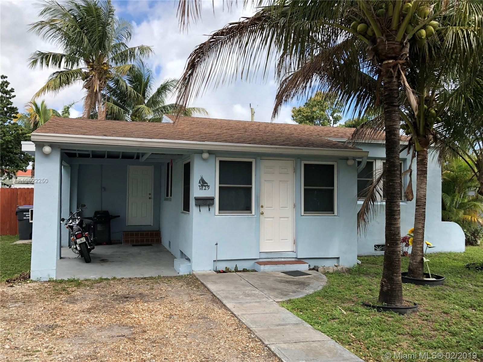 1829  Coolidge St  For Sale A10622250, FL
