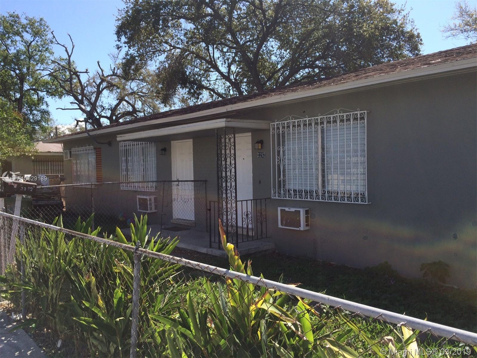 2292 NW 26th St  For Sale A10629189, FL