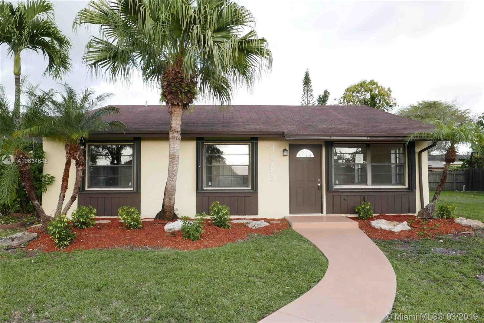 4853 SW 135th Ct #4853 For Sale A10634618, FL