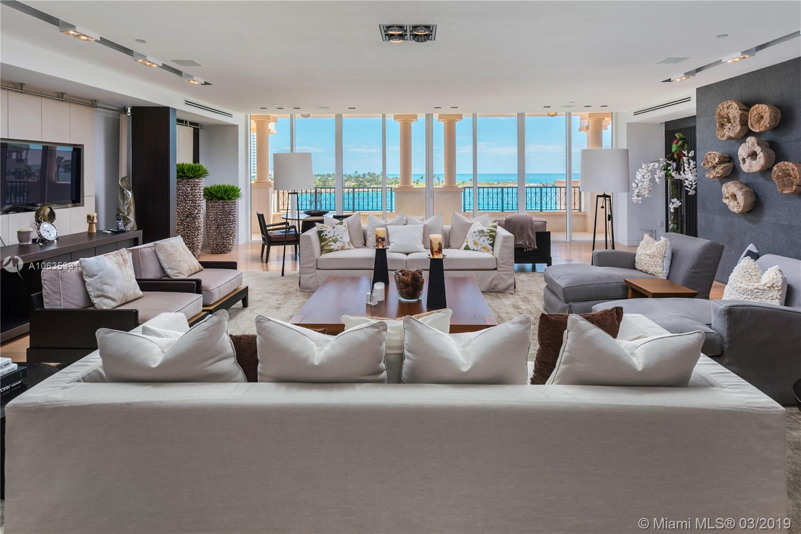 7143  Fisher Island Drive #7143 For Sale A10635331, FL