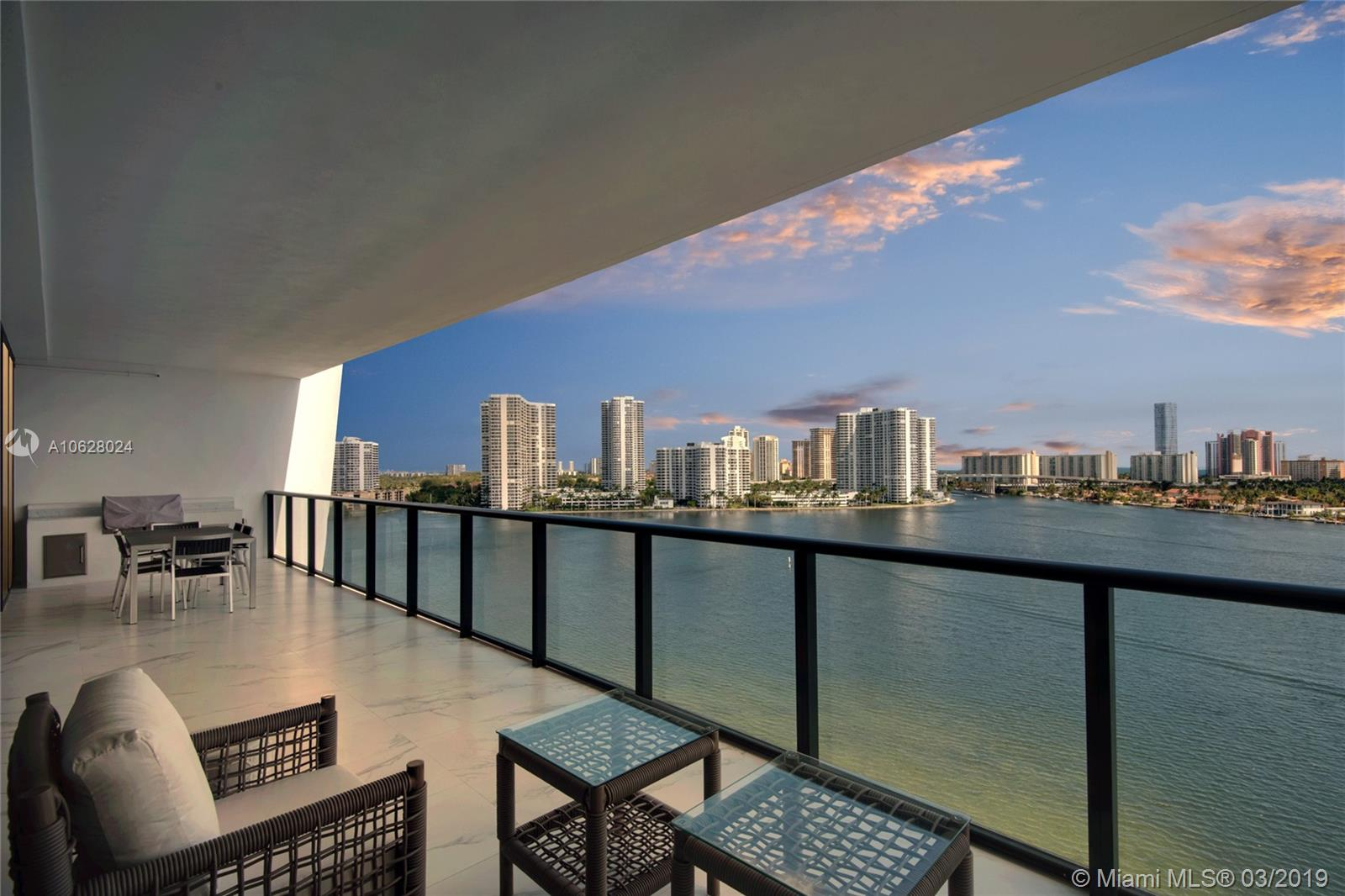 Unit drastically reduced. Owners need to sell. Just bring your toothbrush. The most beautiful unit in Prive decorated and furnished by World Renown Interior Designer Steven G. Prive is located in an exclusive and private island that offers its residences an extraordinary lifestyle. This unit has a breathtaking view of the ocean, the city and the intracoastal waterways. Unit comes with a Summer Kitchen on the terrace, 10 feet ceilings, floor to ceiling windows, private elevators, 2 car garage parking spaces and unlimited valet service. Amenities include 5 star concierge, onsite café, in residence room service, pool, spa, tennis court, nature path, private jetty for guest boat landing, state of the art gym, media room and private marina.