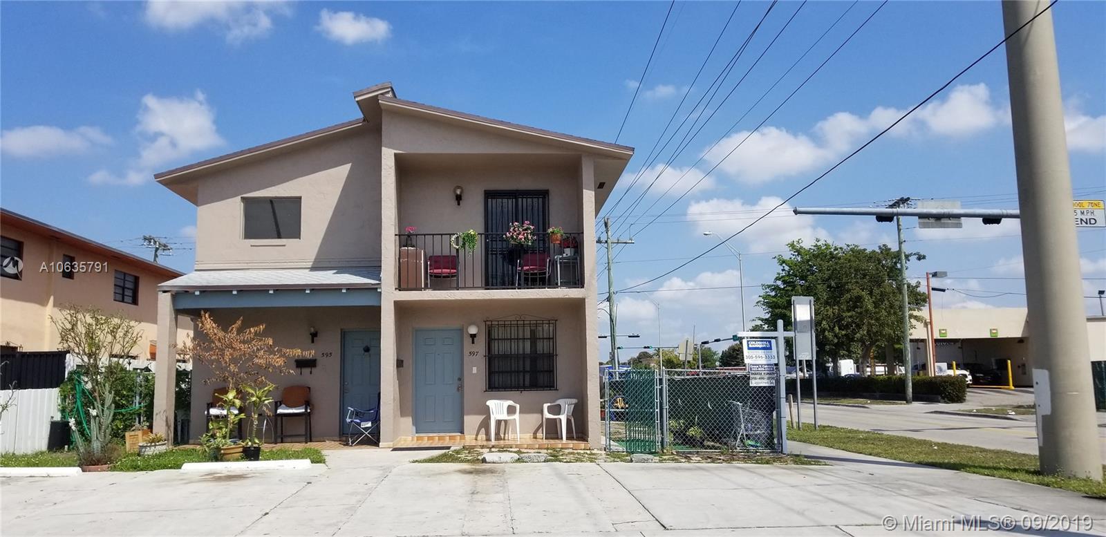 595 E 8th St  For Sale A10635791, FL