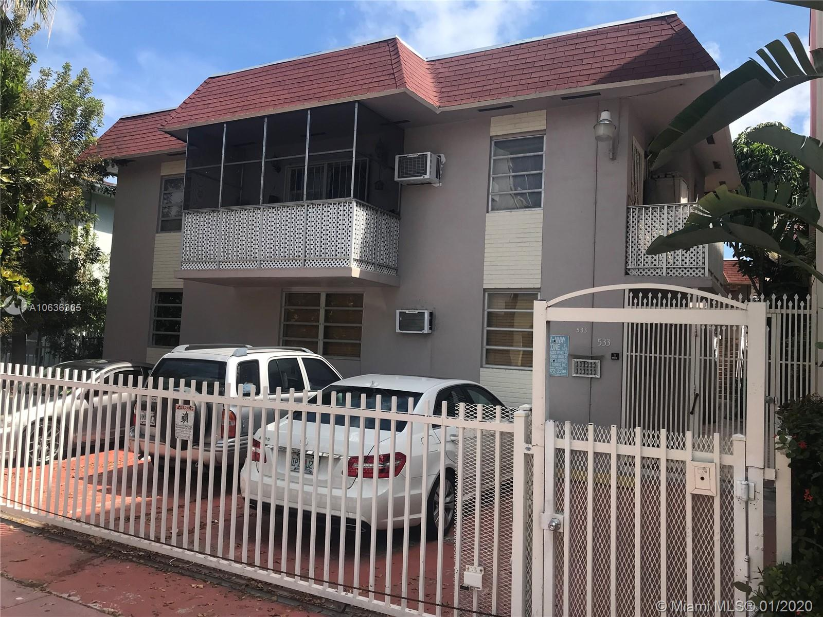 533  Meridian Ave #11 For Sale A10636365, FL