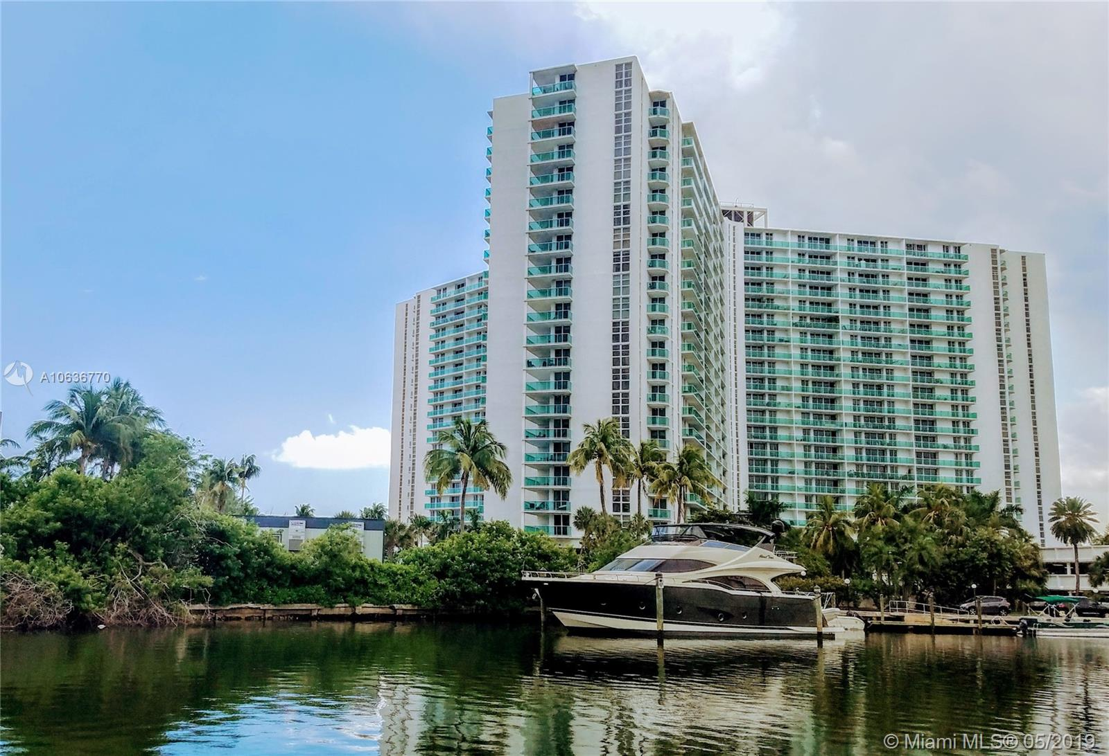 100  Bayview Dr #1008 For Sale A10636770, FL