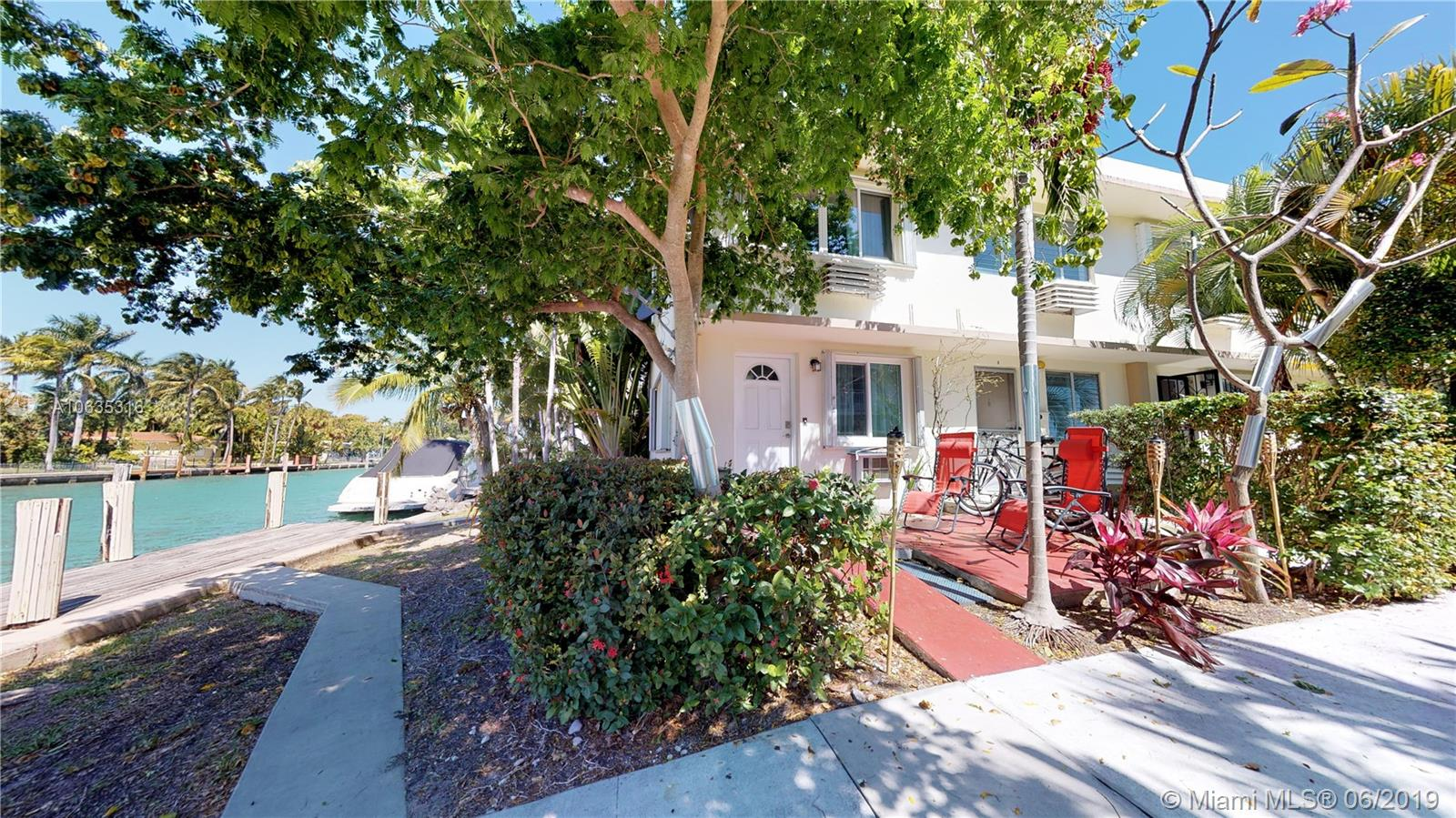Renovated 2 Story Town home set up loft style with the bedroom upstairs and bathroom and the living space and kitchen downstairs with the guest bathroom. Enjoy your semi private front patio with water views. The location is supreme with walking distance to the stores, restaurants, and beach. This is freshly painted with updated kitchen and bathrooms and a brand new wall/ window AC unit upstairs. Bring your paddle board and jump in and enjoy this charming town home on the canal. TENANT OCCUPIED UNTIL JULY 19, 2020. 48 HR NOTICE REQUIRED TO SHOW.