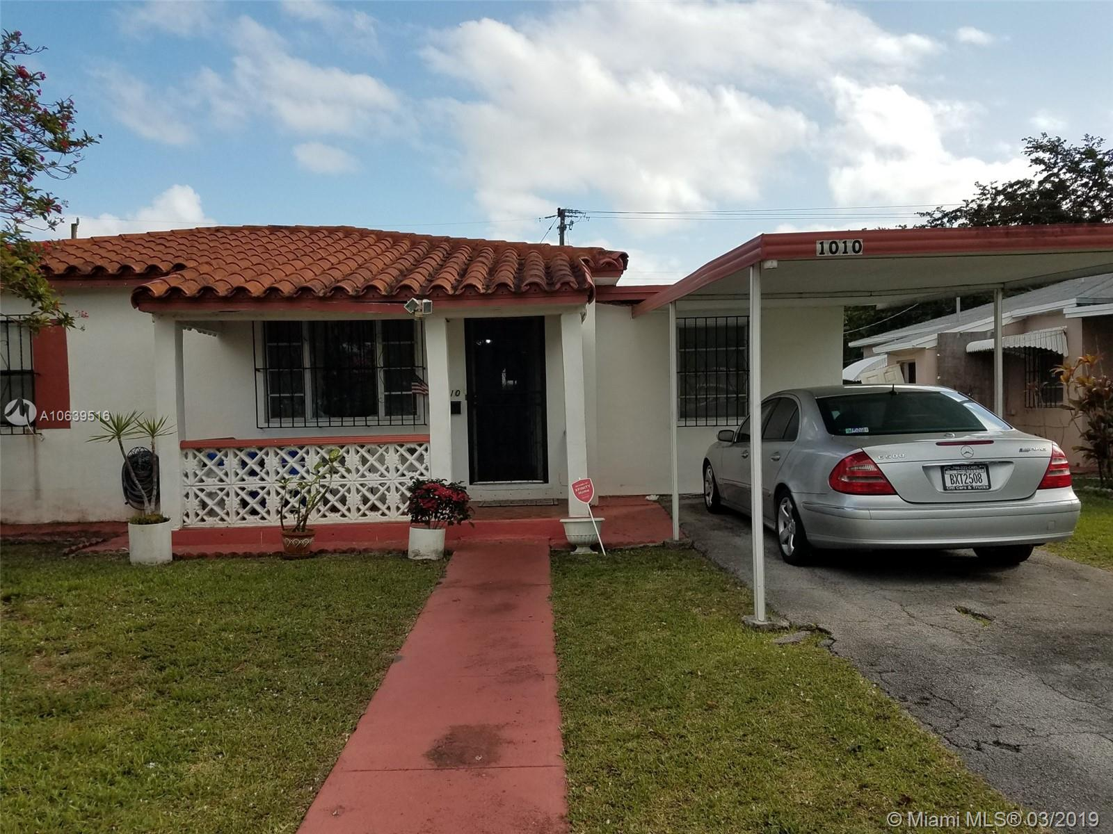 1010 NE 143rd St  For Sale A10639516, FL