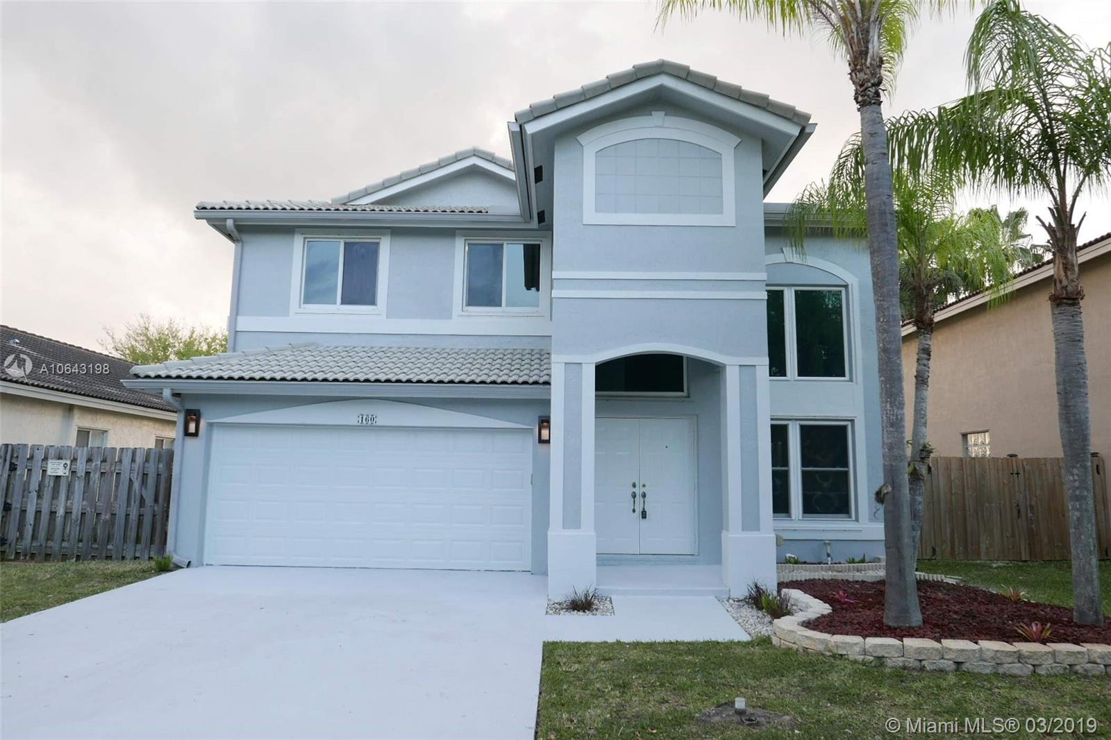 160 SW 203rd Ave  For Sale A10643198, FL