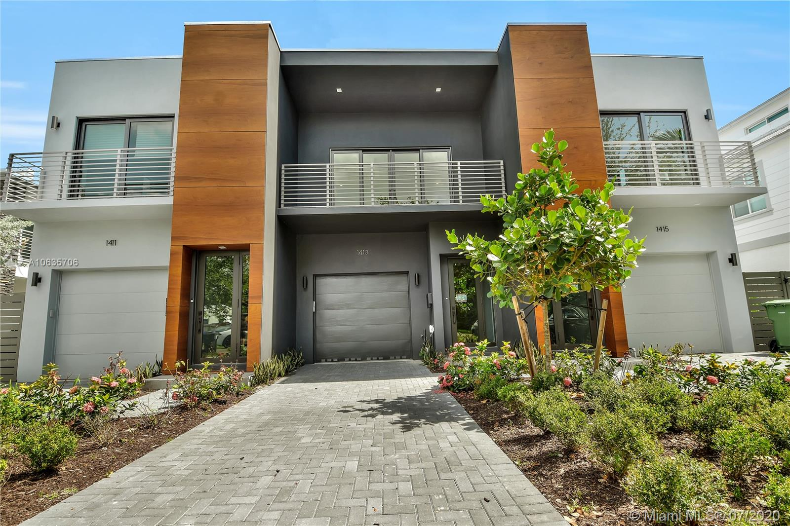 """You will love this delightful two-story contemporary-style townhome located in the heart of Victoria Park. This Two-bedroom, two-and-a-half-bathroom home gives you 2,360 square feet of spacious open floor plan elegance, 48""""x48"""" Italian porcelain floors throughout, 10-foot high ceilings with impact rated door and windows. The modern gourmet kitchen features first class European cabinets, Jenn Air Appliances and a cooking island. All of this situated in a convenient, friendly neighborhood with outstanding schools, only minutes from downtown Fort Lauderdale, trendy Las Olas Boulevard, amazing beaches, Port Everglades and the Fort Lauderdale-Hollywood International Airport. Built by an award winning Developer for outstanding achievement of urban design. Estimate Completion by January 2020."""