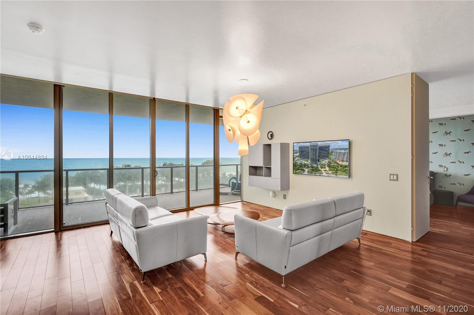 RARE TO FIND 4BED+DEN/4 FULL BATHS - ONE OF A KIND LUXURIOUS AND MODERN FLOW THROUGH OCEANFRONT RESIDENCE AT THE FIVE STAR ST REGIS BAL HABROUR WITH BREATHTAKING, UNOBSTRUCTED DIRECT OCEAN, INTRACOASTAL AND CITY VIEWS. THE PROFESSIONALLY DECORATED UNIT FEATURES: PRIVATE ELEVATOR AND FOYER, TROPICAL ACACIA WOOD FLOOR, FINE CONTEMPORARY FURNITURE. BEACH SERVICE, POOLS, JACUZZI, SPA, RESTAURANTS, GYM, PRIVATE CONCIERGE, KIDS ROOM, SPACIOUS TERRITORRY. Right across the street from Bal Harhour Shops.
