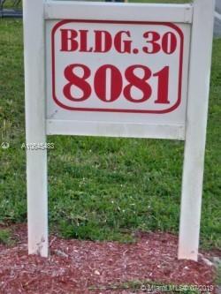8081  Sunrise Lake DR N #107 For Sale A10645483, FL