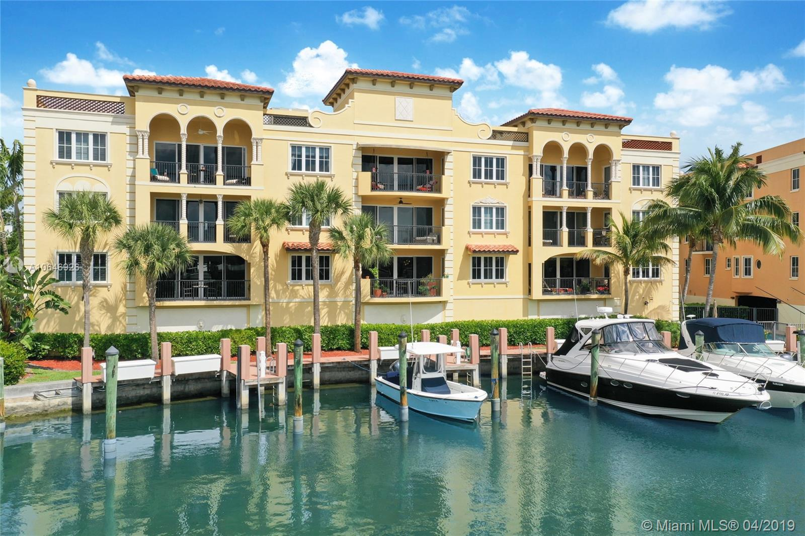Enjoy luxury waterfront living at Hemingway Landing, a boutique waterfront community just minutes to downtown and the beaches and just steps to the Lauderdale Yacht Club.  Enjoy wide water views plus fast ocean access, no fixed bridges and a private boat slip with water and electric for boats up to 32'. This flow through corner model offers gracious living areas, gourmet kitchen with 6 burner Wolf gas range and Sub-Zero, split bedroom plan with en-suite baths, master suite with oversized master bath with separate whirlpool tub and shower, laundry room with full size W/D, impact glass, oversized terrace and 2 garage parking spaces.  Amenities include pool, spa, BBQ and manicured grounds.  Minutes to airport, cruise port and shopping.  Proof of funds/pre-approval requested with all offers.