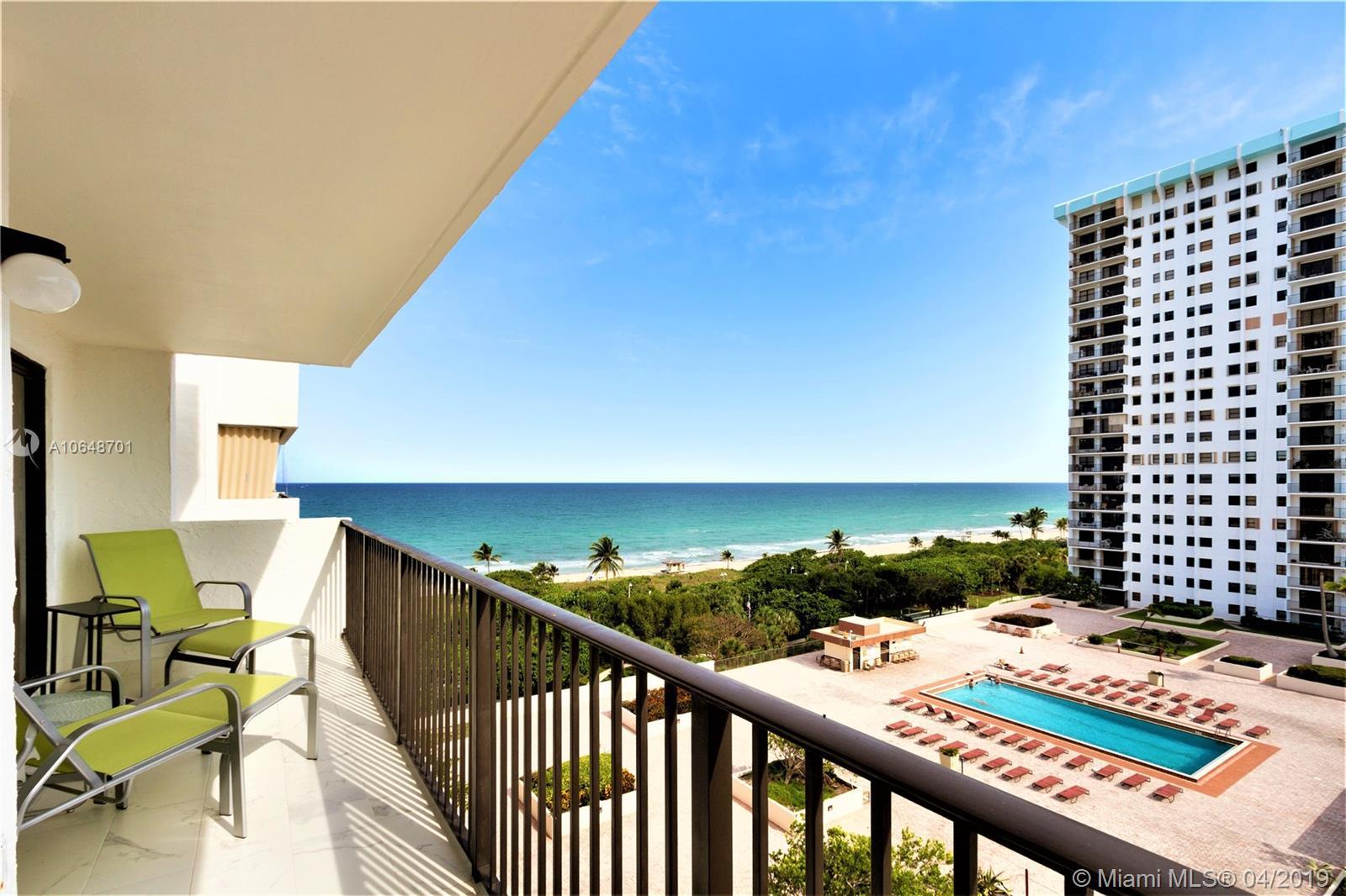1201 S Ocean Dr #1005N For Sale A10648701, FL