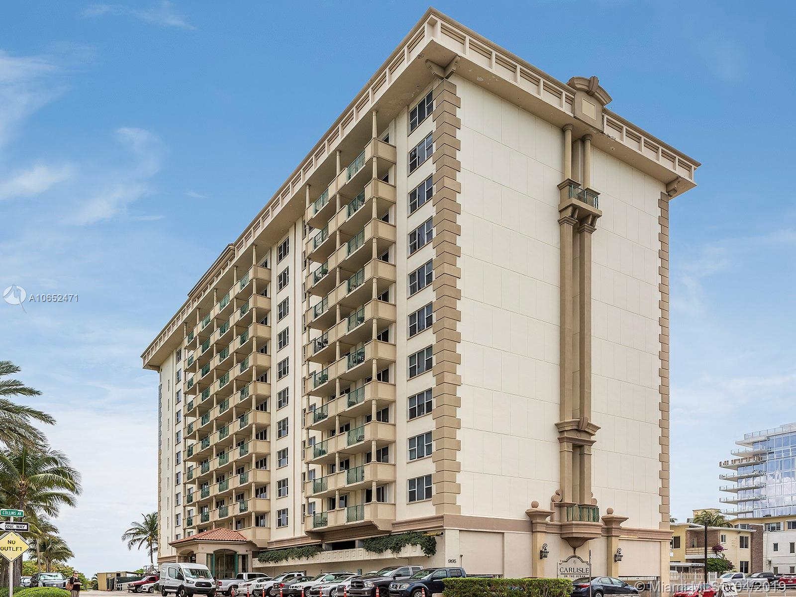 9195  Collins Ave #903 For Sale A10652471, FL