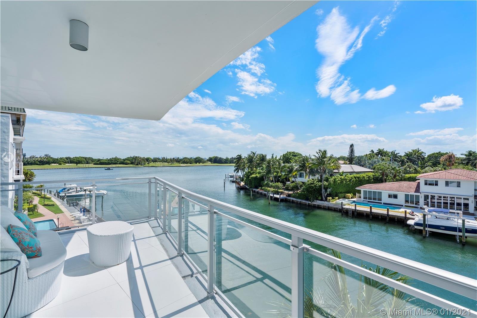 "Very Rare ""01"" Line at Riva Bay Harbor. Professionally Decorated and Furnished. Beautiful views of Indian Creek Golf Course and Bay. 3 Bedrooms plus 3.5 Bathrooms. 2,347 sq ft of living area plus 729 sq ft of terrace as per Floor Plan. Building has underground parking, Sam Robin designed lobby, 24hr security, valet parking, fitness center, and a rooftop pool & spa with spectacular views. Walking distance to Beach & Bal Harbour Shops. Priced to sell! Bring your best offer!"