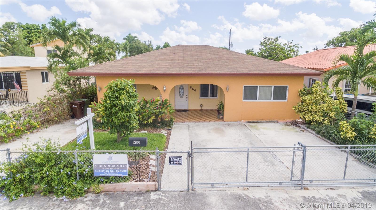 650 E 47 Street, Hialeah, FL 33013