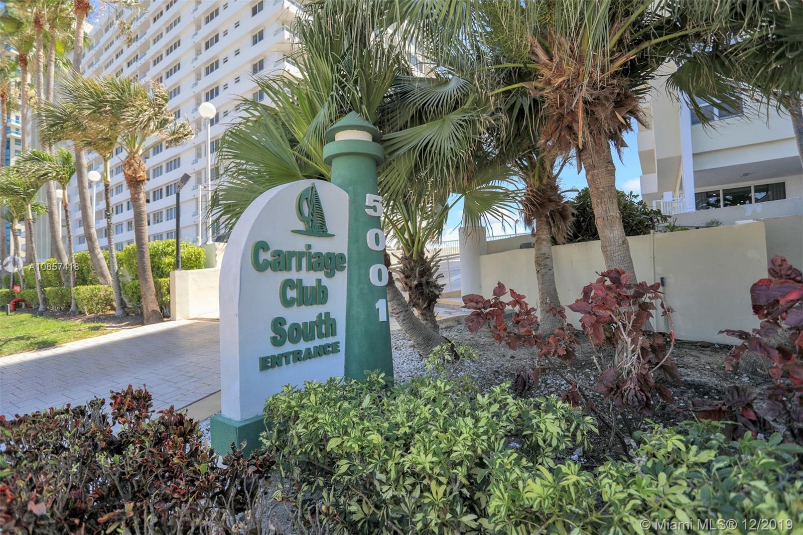 5001  Collins Ave #5E For Sale A10657418, FL