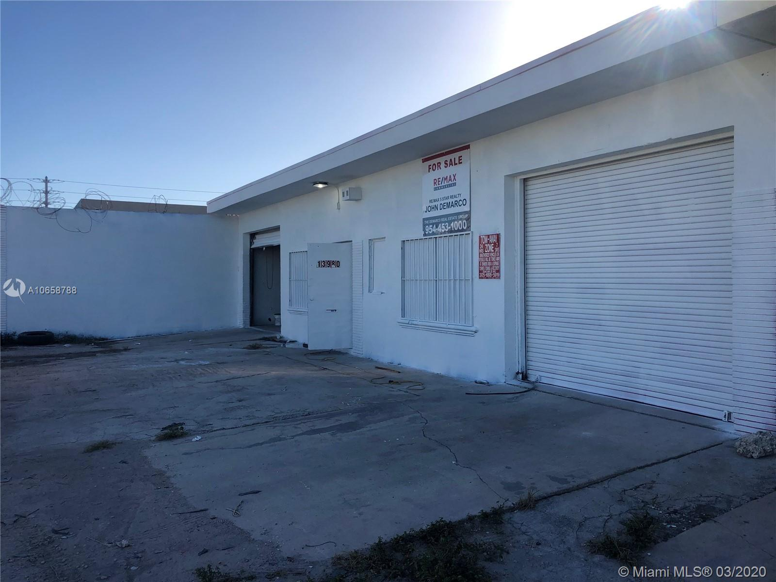 13980 NW 20th Ave  For Sale A10658788, FL